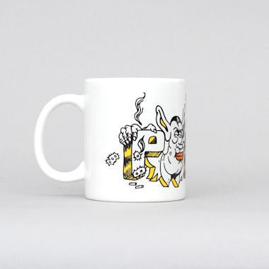 Polar Uzi Mug White