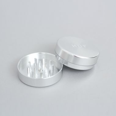 HUF Fuck It Grinder Silver