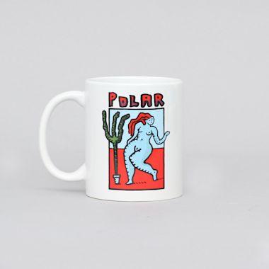 Polar Cactus Dance Mug White