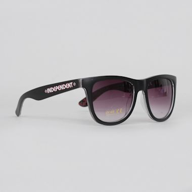 Independent Repeat Cross Sunglasses Black / Red