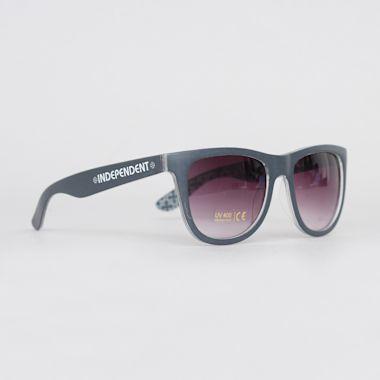 Independent Repeat Cross Sunglasses Navy / Grey
