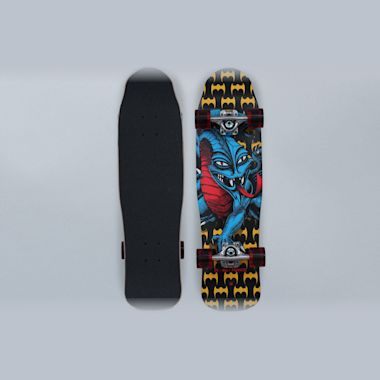 Powell Peralta 8 Mini Caballero Dragon II Complete Skateboard Multi
