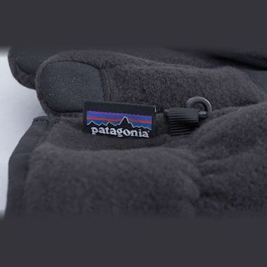 Second view of Patagonia Synchilla Gloves Black