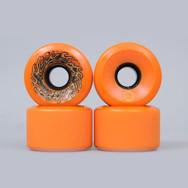 Santa Cruz 60mm 78A Slime Balls Wheels Orange Glow