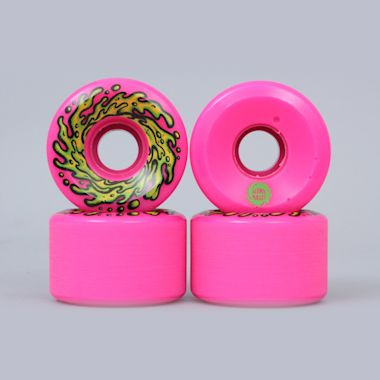 Santa Cruz 60mm 78A Slime Balls Wheels Pink