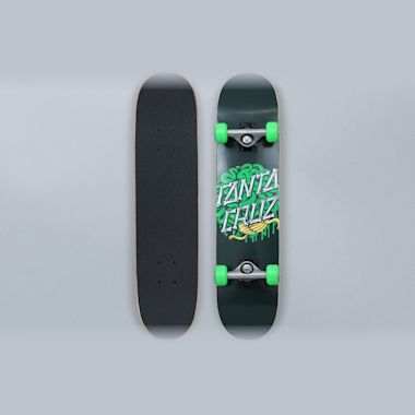 Santa Cruz 6.75 Brain Dot Sk8 Complete Skateboard Green