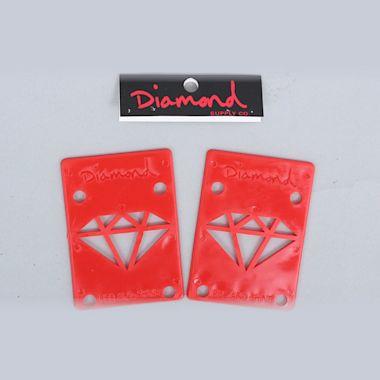 Diamond Riser Pads Red