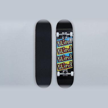Blind 7.75 Incline Soft Wheels Complete Skateboard Black