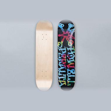 Powell Peralta 7.5 Vato Rat Skateboard Deck Tie-Dye Black