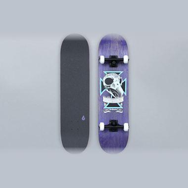 Birdhouse 7.75 Skull 2 Stage 3 Complete Skateboard Blue