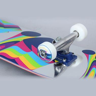 Second view of Alien Workshop 7.875 Flextime Complete Skateboard