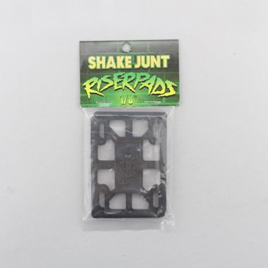 Shake Junt 1/8 Riser Pads Black