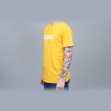Second view of Blast Skates Ragin T-Shirt Yolk