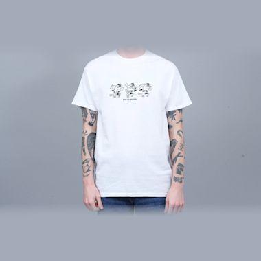 Blast Skates Ragin Mascot T-Shirt White