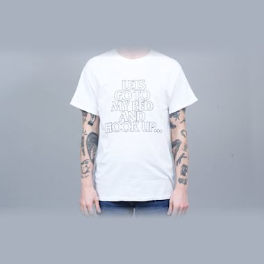 917 Hook Up T-Shirt White