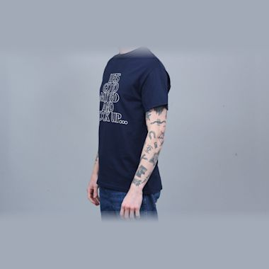 Second view of 917 Hook Up T-Shirt Navy