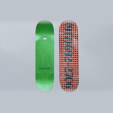 917 8.5 Dialtone Repeater Skateboard Deck Pink