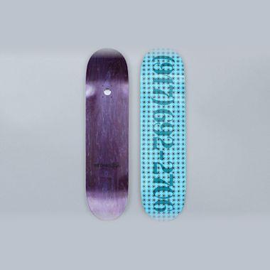 917 8.25 Dialtone Repeater Skateboard Deck Blue