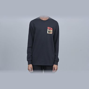 Hockey Nail Longsleeve T-Shirt Black