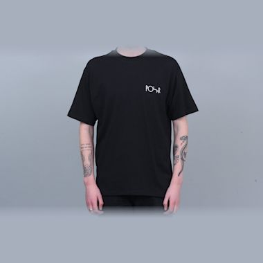 Second view of Polar Stroke Logo T-Shirt Black / White