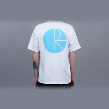 Polar Fill Logo T-Shirt White / Pool Blue