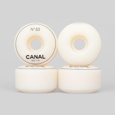 Canal 53mm Designer Wheels White