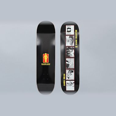 Girl X Beastie Boys 8.25 Sure Shot Skateboard Deck Black