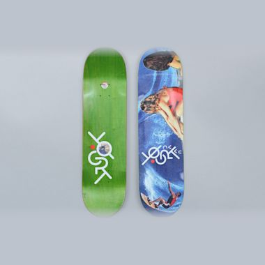 Anti Hero 8.40 Daan Yogrt Skateboards II Skateboard Deck Blue