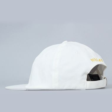 Second view of Helas Baller Cap White / Yellow