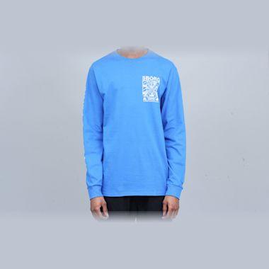 Second view of 5Boro Lucky NY Longsleeve T-Shirt Royal Blue