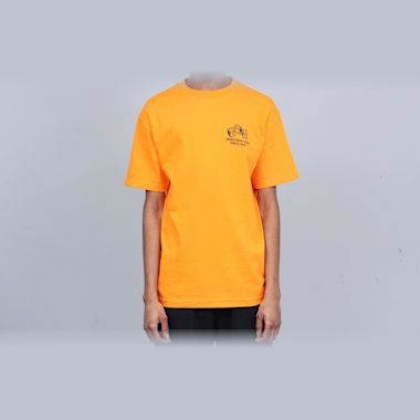Second view of 5Boro 4-5-6 Dice T-Shirt Orange
