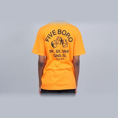 5Boro 4-5-6 Dice T-Shirt Orange