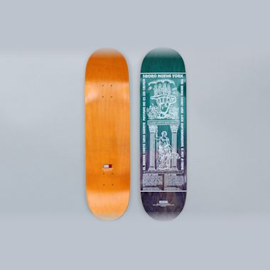 5Boro 8.5 Lucky Bronx Skateboard Deck Green / Purple