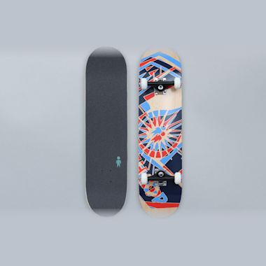 Alien Workshop 7.875 OG Anaglyph Complete Skateboard