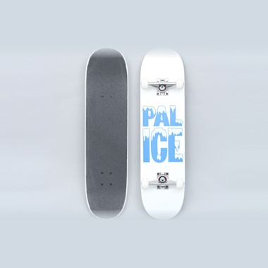 Palace 8 Pal-Ice Complete Skateboard White
