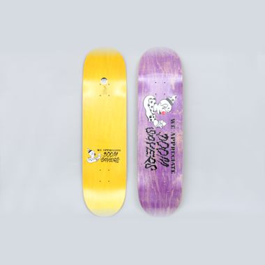 Doomsayers 8.28 We Appreciate Skateboard Deck Purple