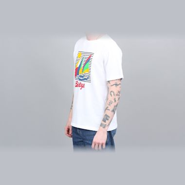 Second view of Blobys Boat T Shirt White
