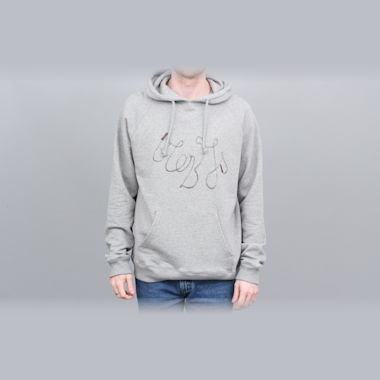 Blobys Jump Rope Hood Heather Grey