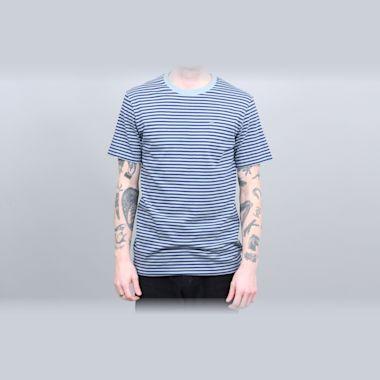 Brixton Pablo Knit T-Shirt Blue Stone