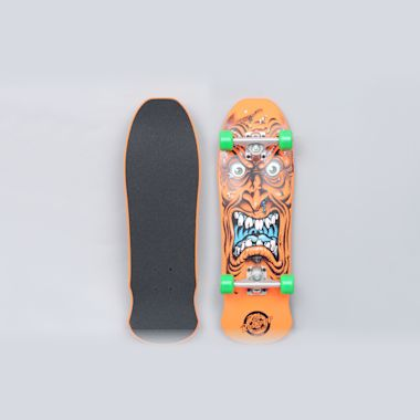 Santa Cruz 8.025 Roskopp Face Mini 80s Complete Skateboard Orange