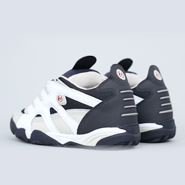 Second view of eS Scheme Shoes White / Grey / Navy