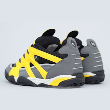 Second view of eS Scheme Shoes Grey / Black / Yellow