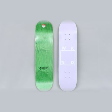 WKND 7.75 Logo Skateboard Deck Lavender