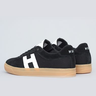 Second view of HUF Soto Shoes Black / White / Gum