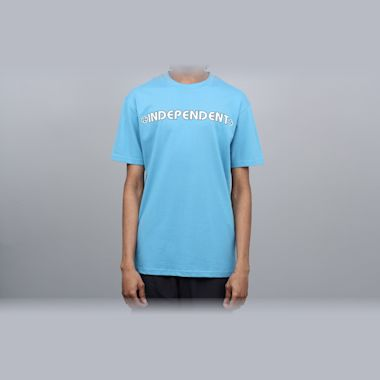 Independent Bar Cross T-Shirt Carolina Blue