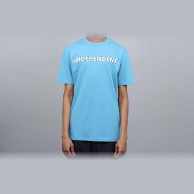 Independent Bar Cross T-Shirt Carolina Blue