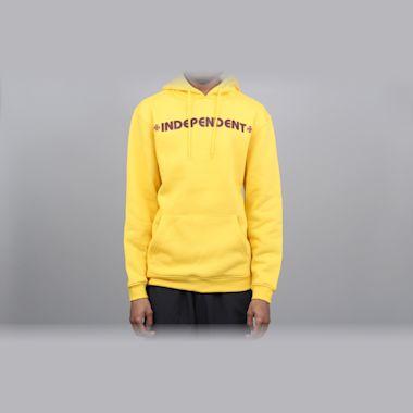 Independent Bar Cross Hood Yellow