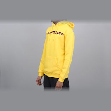 Second view of Independent Bar Cross Hood Yellow