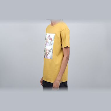 Second view of DC Kalis T-Shirt Yellow
