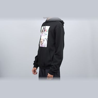 Second view of DC Kalis Pullover Hood Black